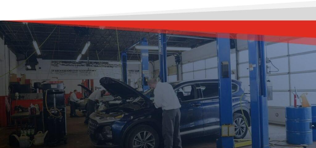 car repair shops Evanston
